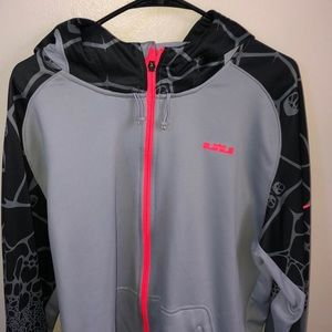 XL mens full zip Nike hoodie grey new without tags